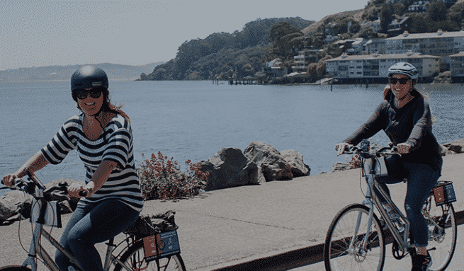 Wheel Fun Rentals Bike the Bridge from San Francisco to Sausalito