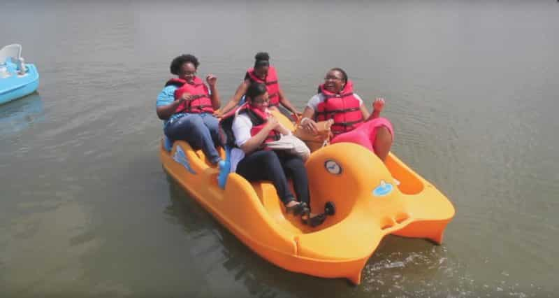 Pedal Boat Rentals at Lakes Regional Park Pumpkin Patch