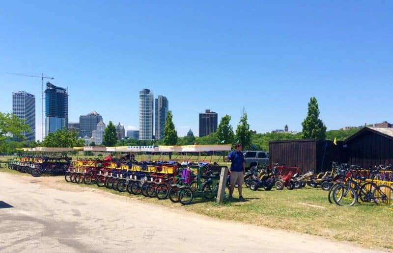 Milwaukee bike rentals