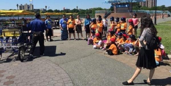 Field Trip School Group at Wheel Fun Rentals