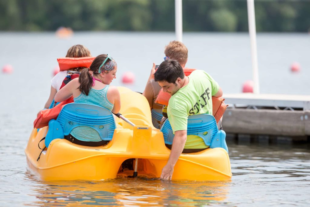 Pedal boat rentals in Minneapolis, MN.