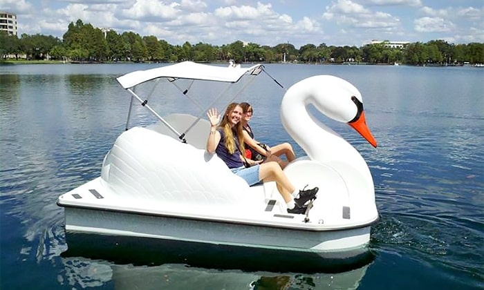 Humboldt Park Chicago Swan Boat Pedal Boat Rentals Lake