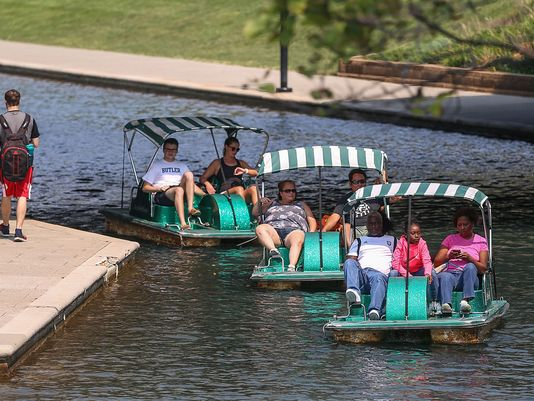 canal walk pedal boat rentals