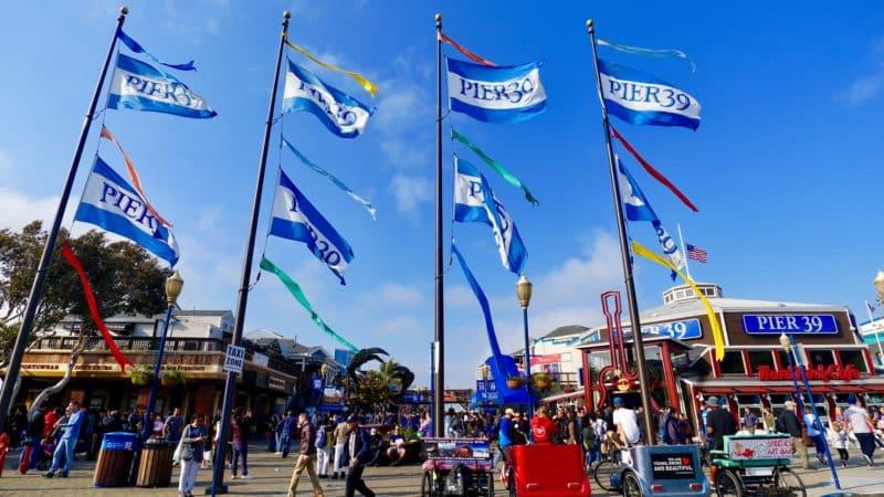 Pier 39 in San Francisco, CA