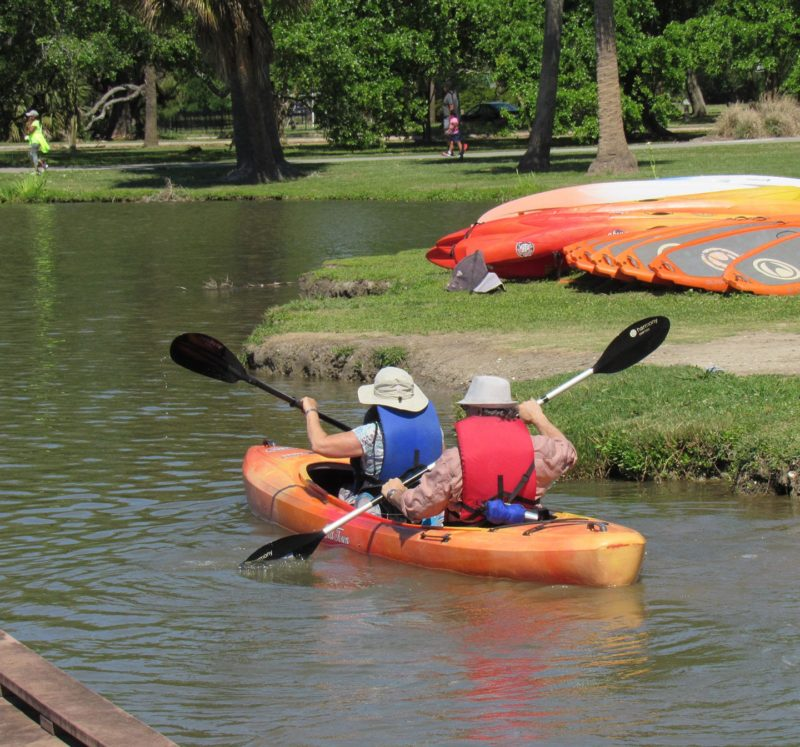 Kayak and Boat Rentals in City Park New Orleans