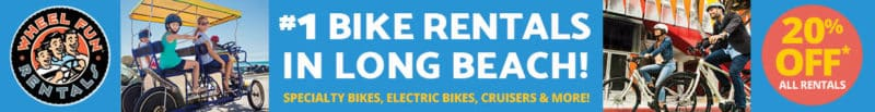 Wheel Fun Rentals is the best bike rental in Long Beach