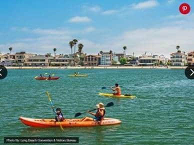 Kayaking in Long Beach, CA