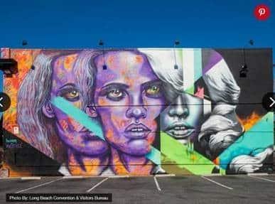 POW WOW Murals in Long Beach